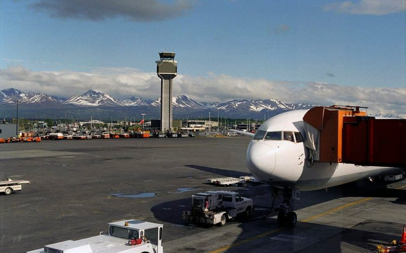 Anchorage Airport Alaska
