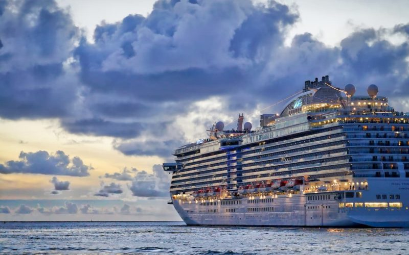 Vacation on a cruise