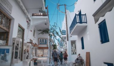 Greece tourism